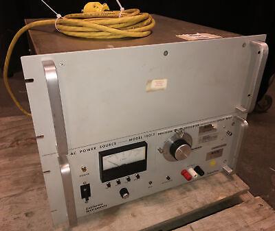California Instruments Invertron 1001thr Power Source W 800t Oscillator