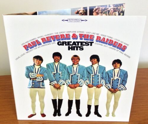 Greatest Hits Ltd Ed Paul Revere & Raiders PERSONAL AUTOGRAPH to U Mark Lindsay