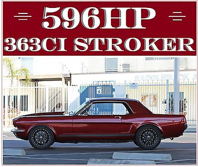 1965 Ford Mustang 596 Hp 363 Stroker Show Car 1965 Mustang 596Hp Shafiroff  363 Stroker Pa C4 Trans Brake Manual  Show Car