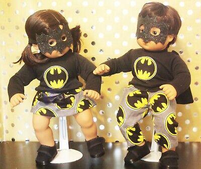 Matching Costumes For Kids (Matching Batman/Batgirl Costumes for Bitty Twins)