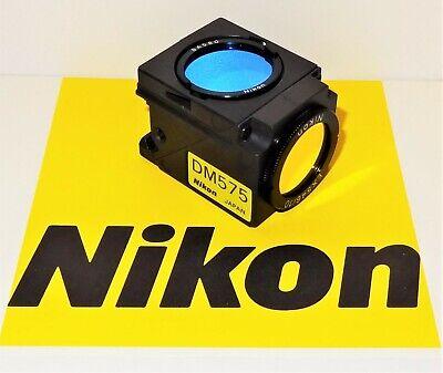 Nikon Green G-1a Fluorescent Microscope Filter Cube For E400 600 And Te200300