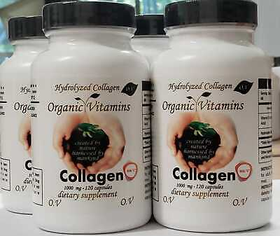 SUPER 1000 COLLAGEN  HYDROLYZED C minimize wrinkles Supports lean muscle 400CAP 1