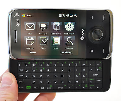 HTC TOUCH PRO Sprint Windows Cell Phone PPC6850 6850 screen NFL Mobile Live Web Htc Touch Pro Mobile