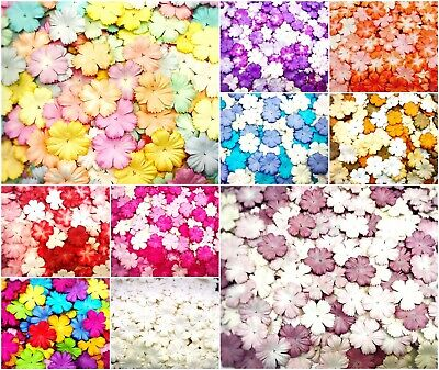 Crafting Store (Awesome Carnation Paper Flowers 25 mm. Mixed Tone Color Mulberry for)
