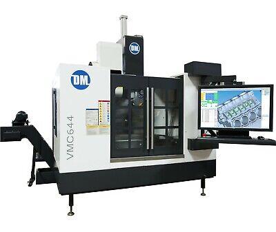 Dm Vmc644 Cnc Machining Center 3 4 5 Axis Built In Cadcamcmm Software