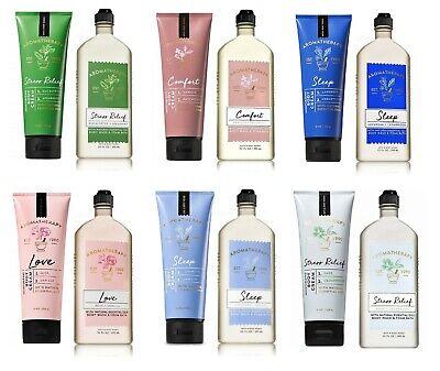 - Bath and Body Works Aromatherapy Set Body Cream + Body Wash & Foam Bath - New