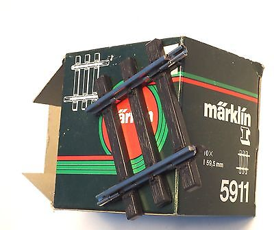 5911 Marklin Scale 1 gauge Straight track 59.5mm, one each