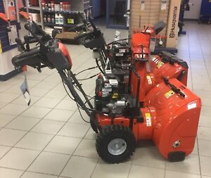 Year End Sale of  New Husqvarna Snow Blowers