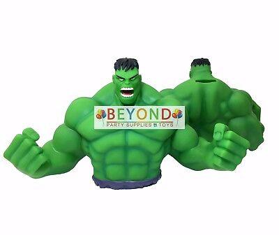 Hulk Busto Banco Monedas Banco Marvel Hucha 3d Figura de Juguete Banco