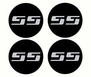 4 Chevy Silverado SS rim wheel center cap overlay vinyl decals 350 454 LS1