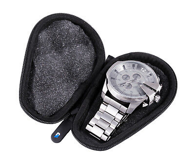 Watch Case for Stainless Steel Metal Band Watch up to 56MM for Men or Women