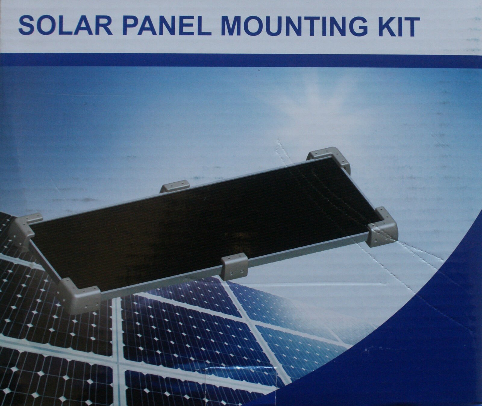 Solar Panel Mounting Kit Universal Fit Caravan