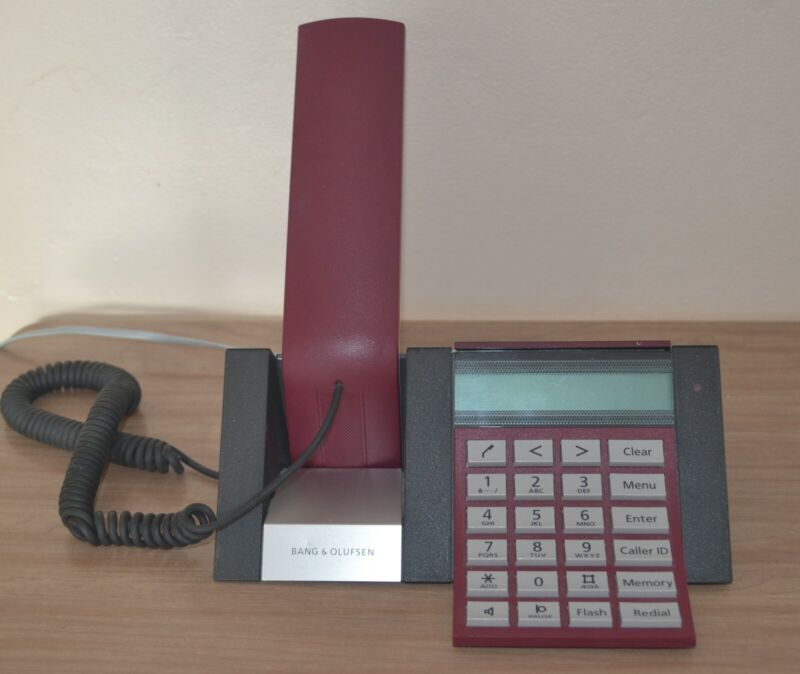 Bang & Olufsen BeoCom 2500 Telephone (Burgundy)