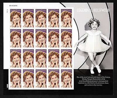 SHIRLEY TEMPLE - LEGENDS OF HOLLYWOOD - FOREVER ISSUE- MNH SHEET OF 20