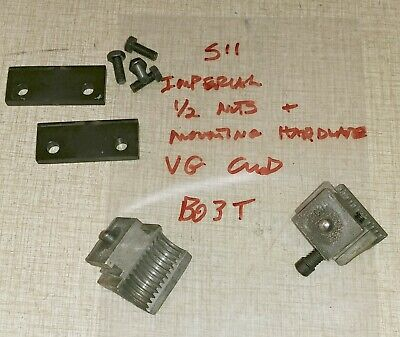 Emco Maximat Super 11 Lathe Imperial Half Nuts Plates B03t