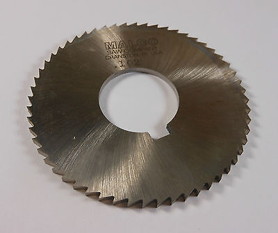 ".036/"" Thick x 2-3//4/"" Diameter x 1/"" Arbor Hole 72 Teeth HSS Screw Slotting Saw"