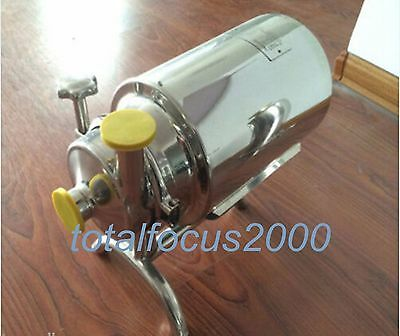 Stainless Steel Sanitary Pump Sanitary Beverage Milk Delivery Pump 3th 0.75kw