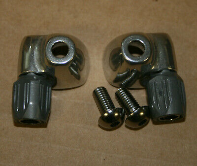 Vintage Shimano Dura-Ace Step Down Brake Cable Housing Ferrule Pair SHIPS FAST!
