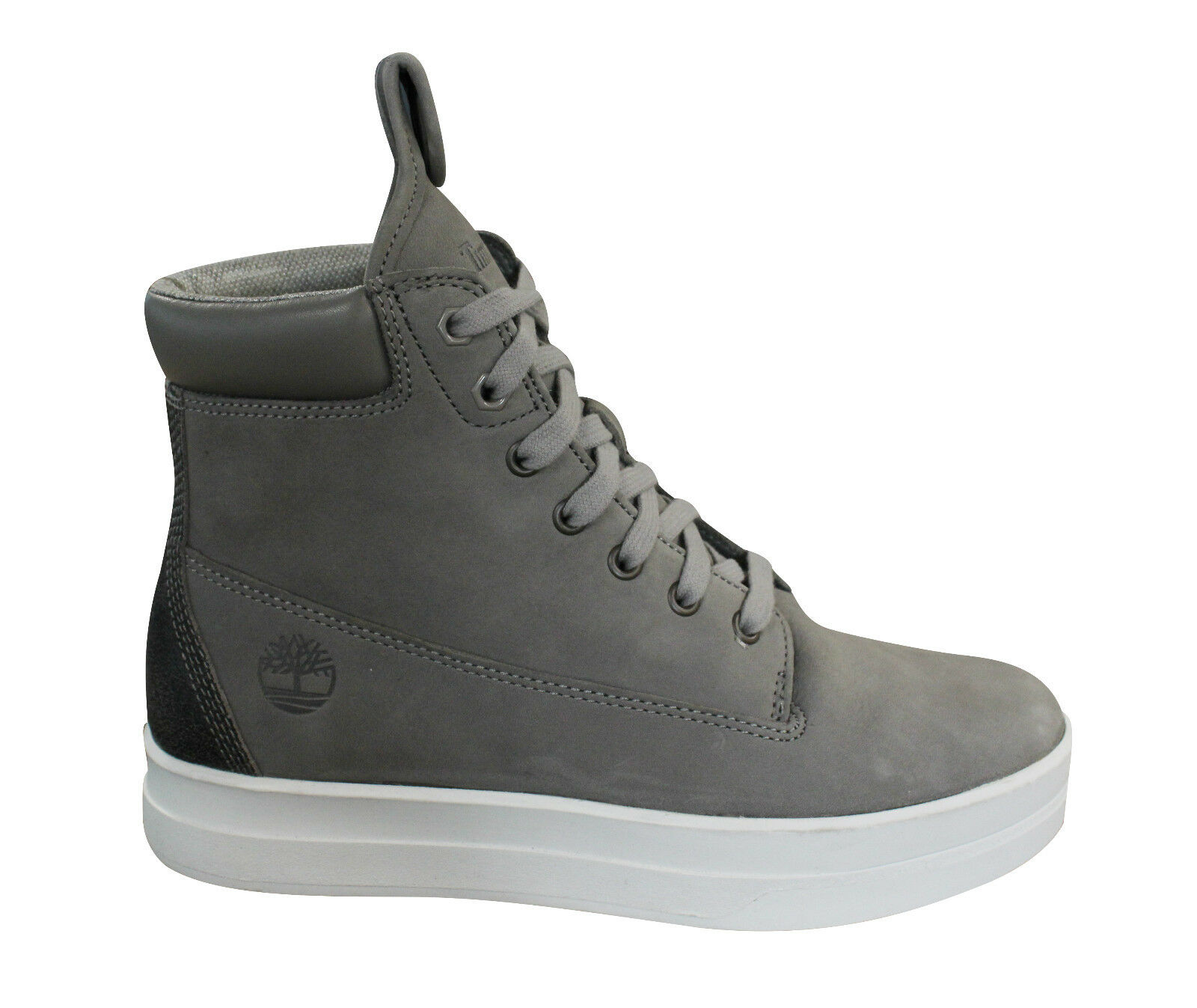 Details about Timberland Mayliss 6 Inch Lace Up Womens Cupsole Trainers Boots Grey A1JIU D4