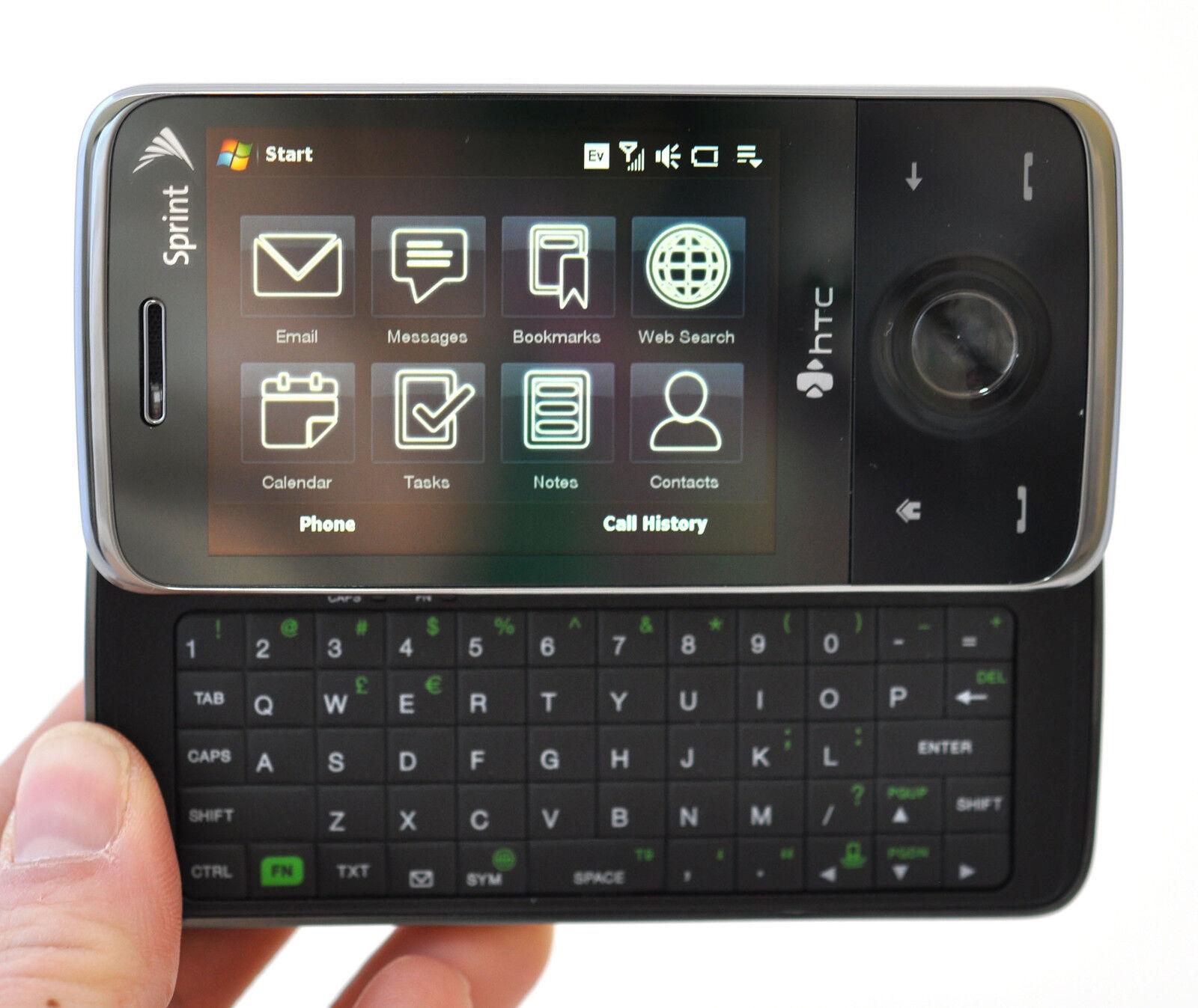 htc touch pro sprint windows cell phone ppc6850 6850 slider keyboard rh ebay com HTC Screen Symbols All HTC Phones
