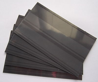 Stamp Stockcards 148 x 85mm 2-strips with coverfoil. Brand new & high quality.