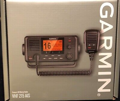 Garmin 215 AIS Marine VHF Radio with GPS. *NEW*  Blow Out Price