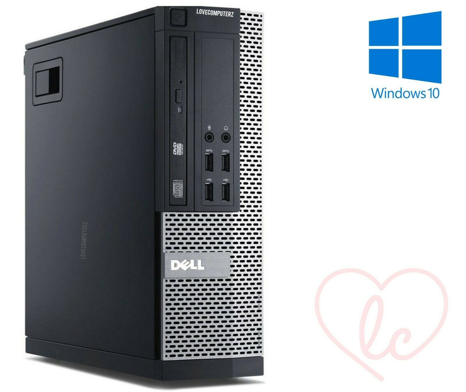Computer Games - FAST GAMING DELL BUNDLE TOWER PC FORNITE COMPUTER SYSTEM INTEL i3 8GB 1TB GT710