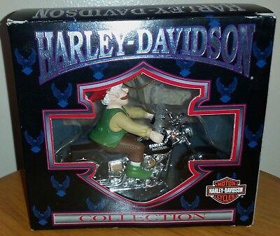 Vintage 1998 Harley Davidson Elf Motorcycle Christmas Tree Ornament Decoration  - Harley Davidson Decoration
