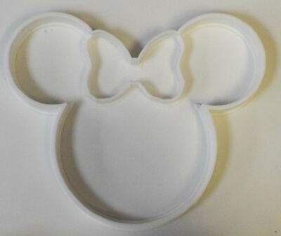 Minnie Mouse Head With Bow Disney Character Special Occasion Cookie Cutter Bakin - Minnie Bow Cookie Cutter