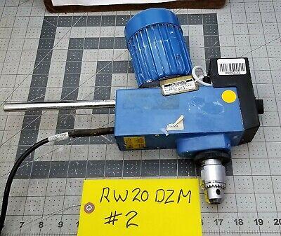 Ika Rw-20 Dzm Digital Mechanical Overhead Stirrer Mixer 100-115v 2