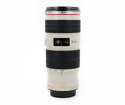 Canon EF 70-200mm f/4 L IS USM Lens - Image Stabailization 1258B002
