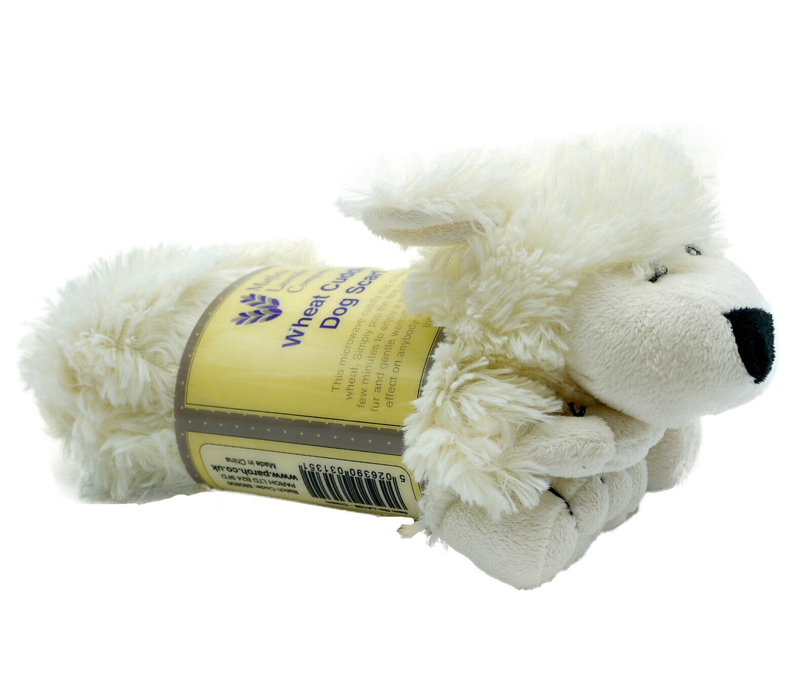 Matfield Lavender Company Wheat Dog Cuddle Scarf Microwaveable Heat Pack