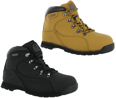 Groundwork Leather Safety Steel Toe Mens Hiking Walking Work Boots Shoes UK3-13 Mens Steel Toe Schuh