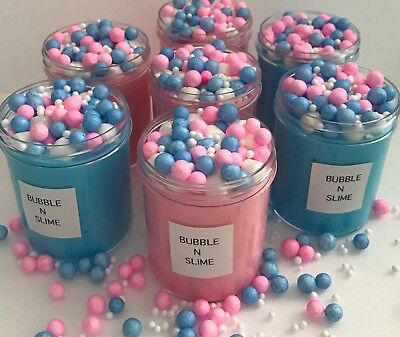 Cotton Candy Crunchy Floam Slime -Scented 4oz.