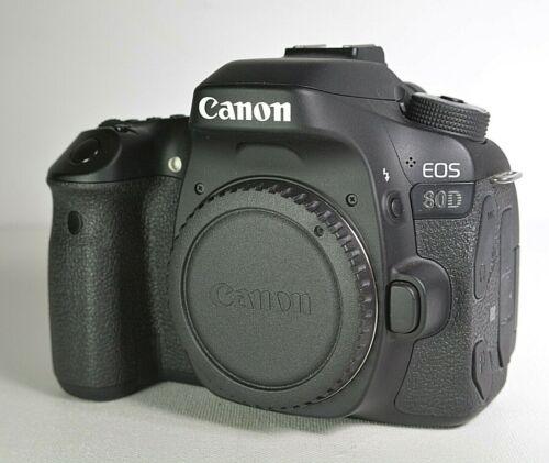 Canon 80D 24.2MP  Digital SLR Camera Kit with 2 lens