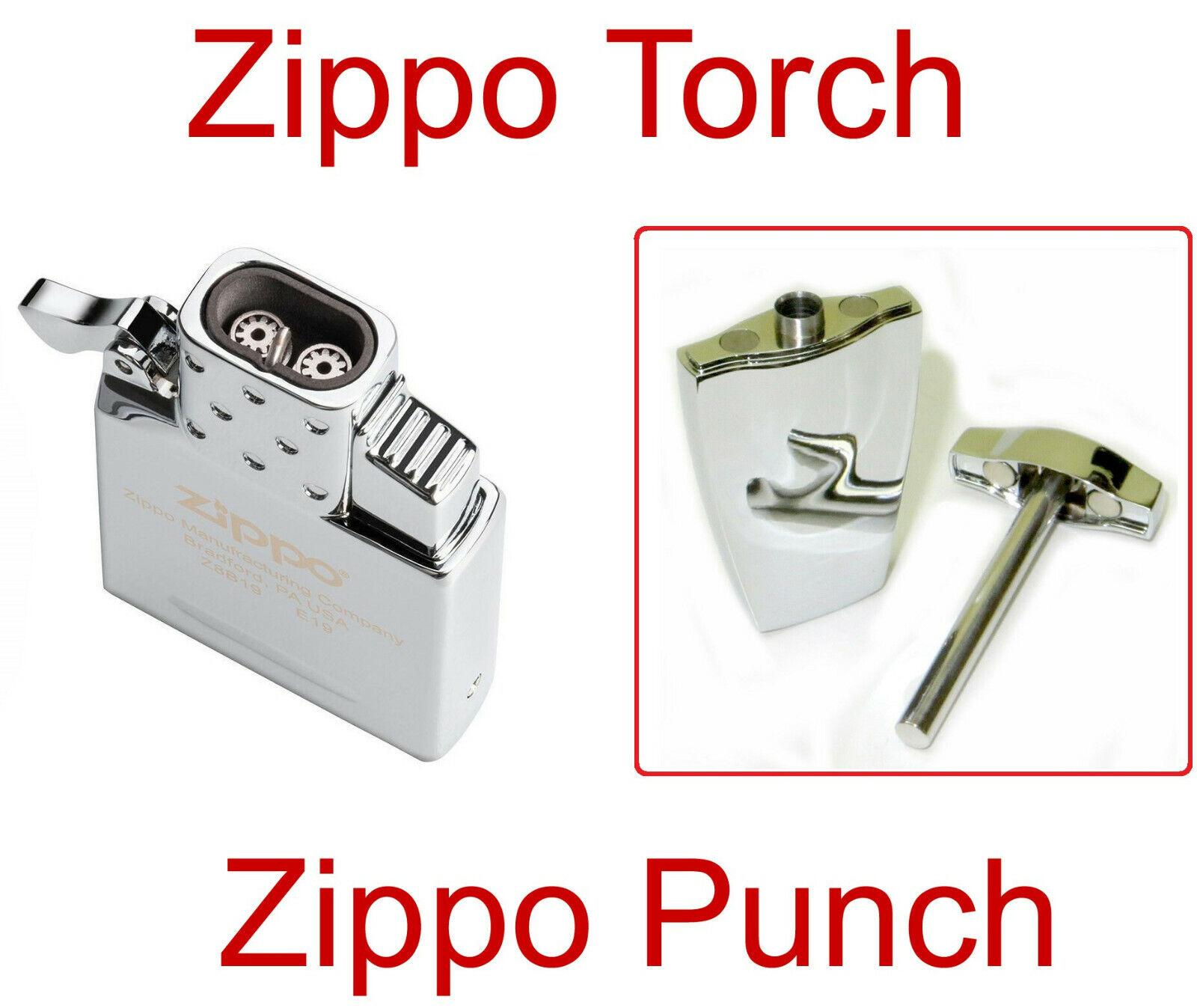 Zippo Lighter Cigar Upgrade Dual Jet Butane Torch Insert And