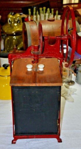 Vintage DAZEY Metal BUTTER CHURN model 330B  Dated 1917 Hand Crank!~~SUPERB!