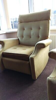 Vintage Parker Knoll Reclining Chairs X 2