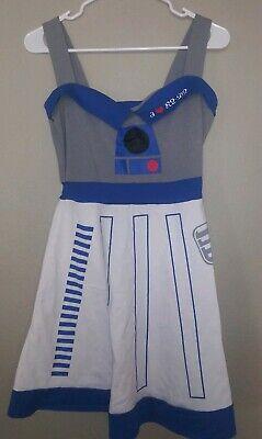 Starwars Dress Up (Star Wars Costume I Love R2D2 Dress Up Teenage Girls Medium)