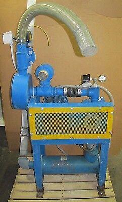 Gardner Denver Gacmdpa 4mp 3600 Rpm Blower 10 Hp 230460v Motor And Silencer
