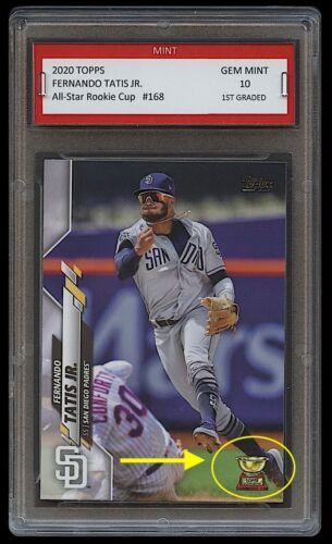 FERNANDO TATIS JR. TOPPS ALL-STAR ROOKIE GOLD CUP CARD 1ST GRADED 10 PADRES MLB