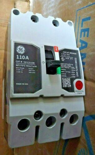 GE 3 Pole 110 Amp 480 Volt Cat.# TEYL3110B