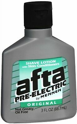 Afta Pre-Electric Shave Lotion With Skin Conditioners Original 3 - Afta Skin Conditioner