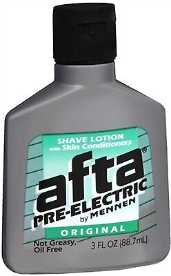 - Afta Pre-Electric Shave Lotion With Skin Conditioners Original 3 oz (Pack of 3)