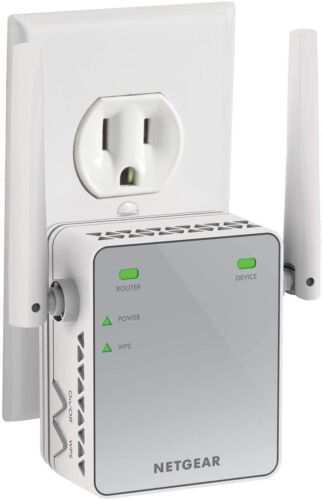 NEW ROUTER INCREASE SIGNAL PLUG IN WIRELESS WIFI INTERNET RANGE EXTENDER BOOSTER
