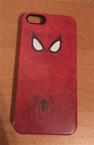 iPhone 5/5s/SE Case - Hard Plastic SpiderMan Case