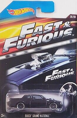 2014 Hot Wheels Fast and Furious Black '87 Buick Grand National