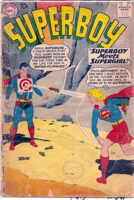SUPERBOY #80