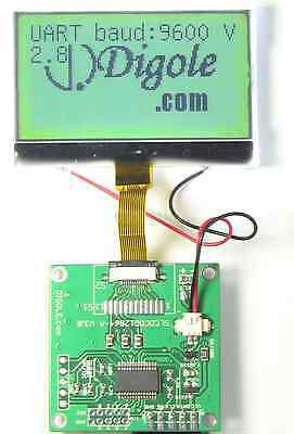 2.2 Serialuartiici2cspi 12864 Lcd Module 7fontsgraphicbacklight Arduino