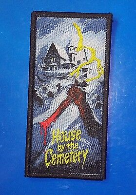 The House by the Cemetery WOVEN PATCH - HORROR movie Lucio Fulci Dr. Freudstein